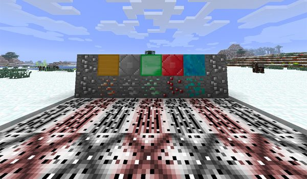 M-Ore Mod for Minecraft 1.7.2 and 1.7.10