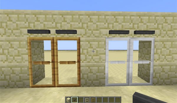 MalisisDoors Mod for Minecraft 1.8 and 1.7.10