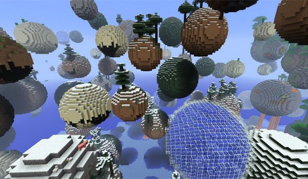 Planetoid Mod for Minecraft 1.7.2