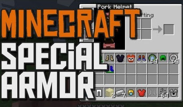 Special Armor Mod for Minecraft 1.7.2 and 1.7.10