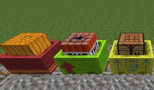 Cart Livery Mod for Minecraft 1.7.2 and 1.7.10