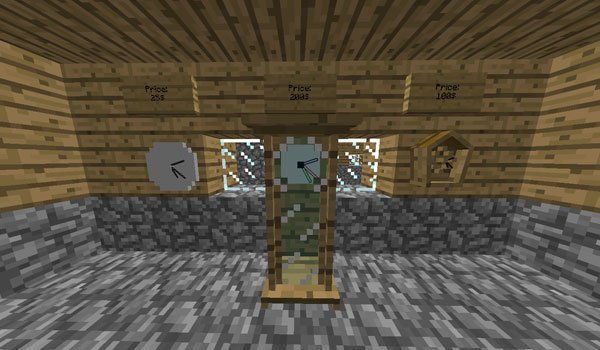 Fancy Clocks Mod for Minecraft 1.7.2