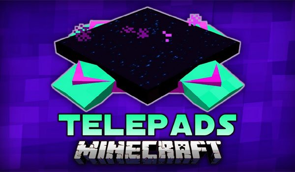 TelePads Mod for Minecraft 1.7.10 and 1.7.2