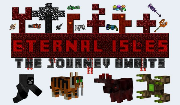 Eternal Isles Mod for Minecraft 1.7.2
