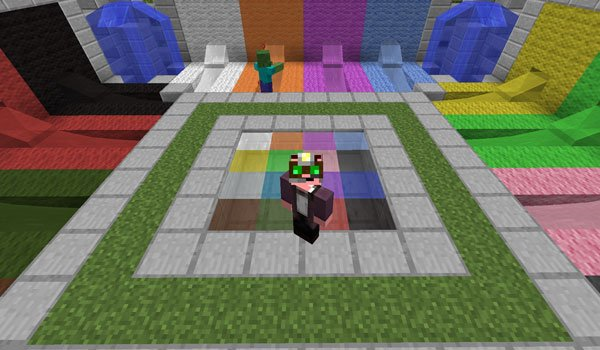 Rainbow Liquids Mod for Minecraft 1.7.2 and 1.7.10