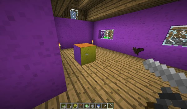 Wall Painter Mod for Minecraft 1.7.2 and 1.7.10