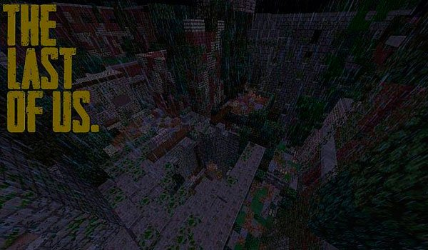 The Last of Us Map for Minecraft 1.8