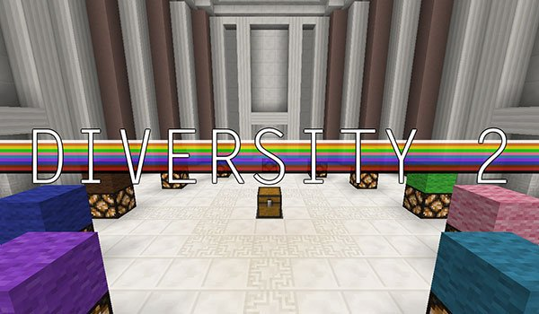 Diversity 2 Map for Minecraft 1.8