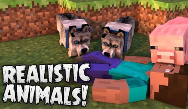 Hungry Animals Mod for Minecraft 1.7.10