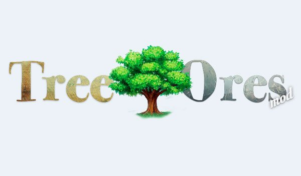 TreeOres Mod for Minecraft 1.8 and 1.7.10