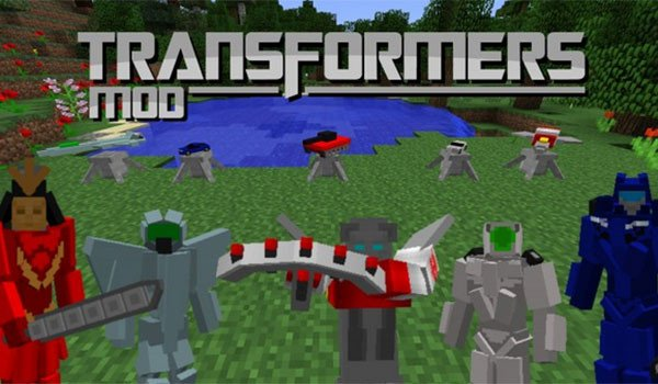 Transformers Mod for Minecraft 1.7.10