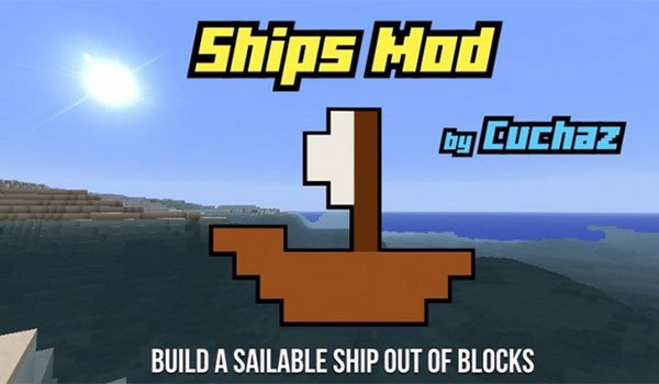 Ships Mod for Minecraft 1.7.10