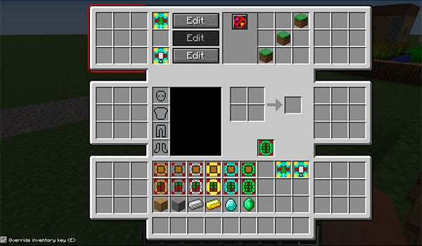 Advanced Inventory Mod for Minecraft 1.8 and 1.7.10