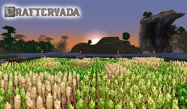 Crafteryada Texture Pack for Minecraft 1.8