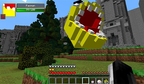 Horror Pacman Mod for Minecraft 1.7.10