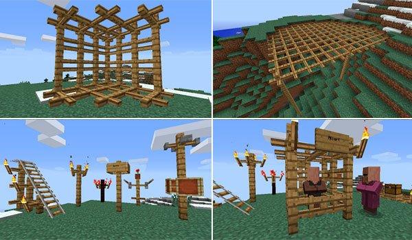 Lattice Mod for Minecraft 1.8