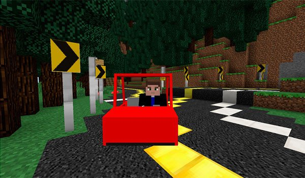 Vehicular Movement Mod for Minecraft 1.7.10