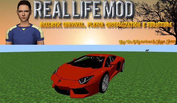 Real Life Mod for Minecraft 1.7.10