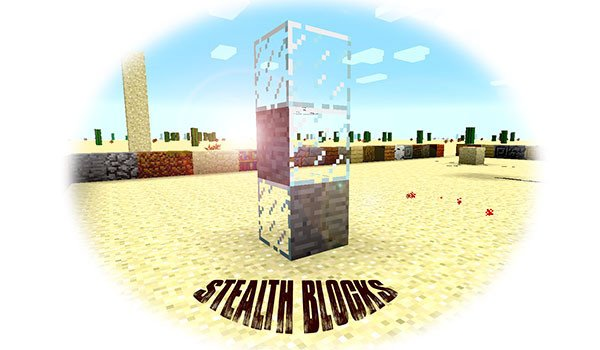 Stealth Blocks Mod for Minecraft 1.7.10