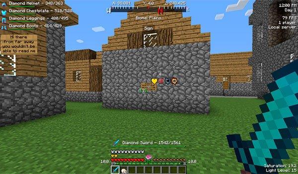 Better HUD Mod for Minecraft 1.8