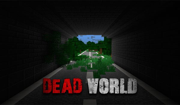 Dead World Map for Minecraft 1.8