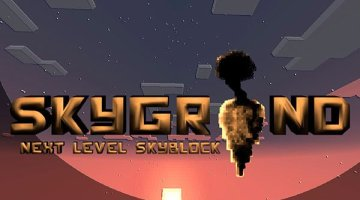 Skygrind Map for Minecraft 1.8