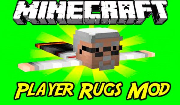 Player Rugs Mod for Minecraft 1.7.10