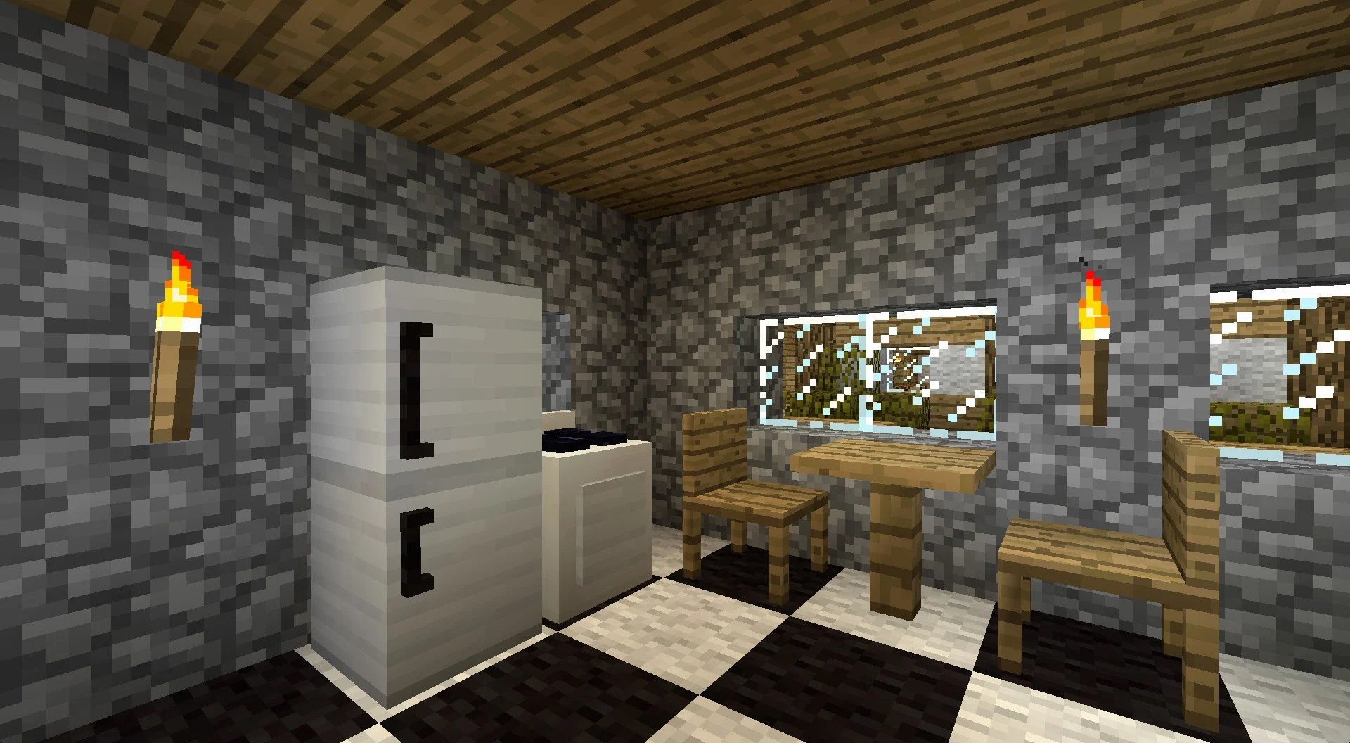 how to make living room furniture in minecraft window treatment ideas small mod mods furniture2
