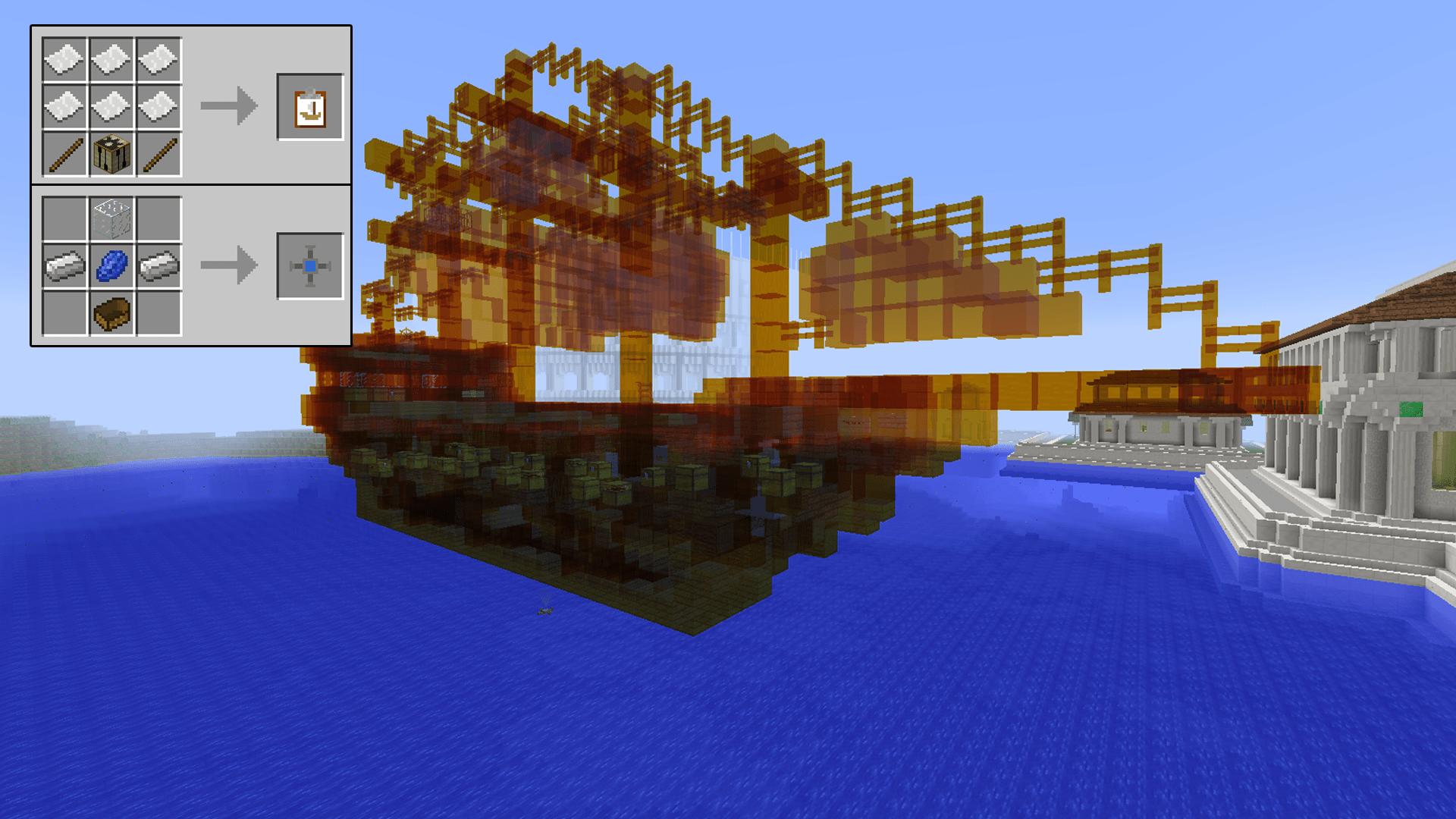 Ships Minecraft Mods