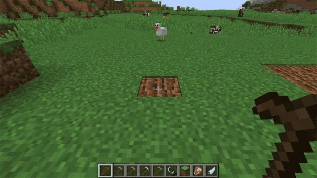 Make Minecraft Hoe How Wooden Do I