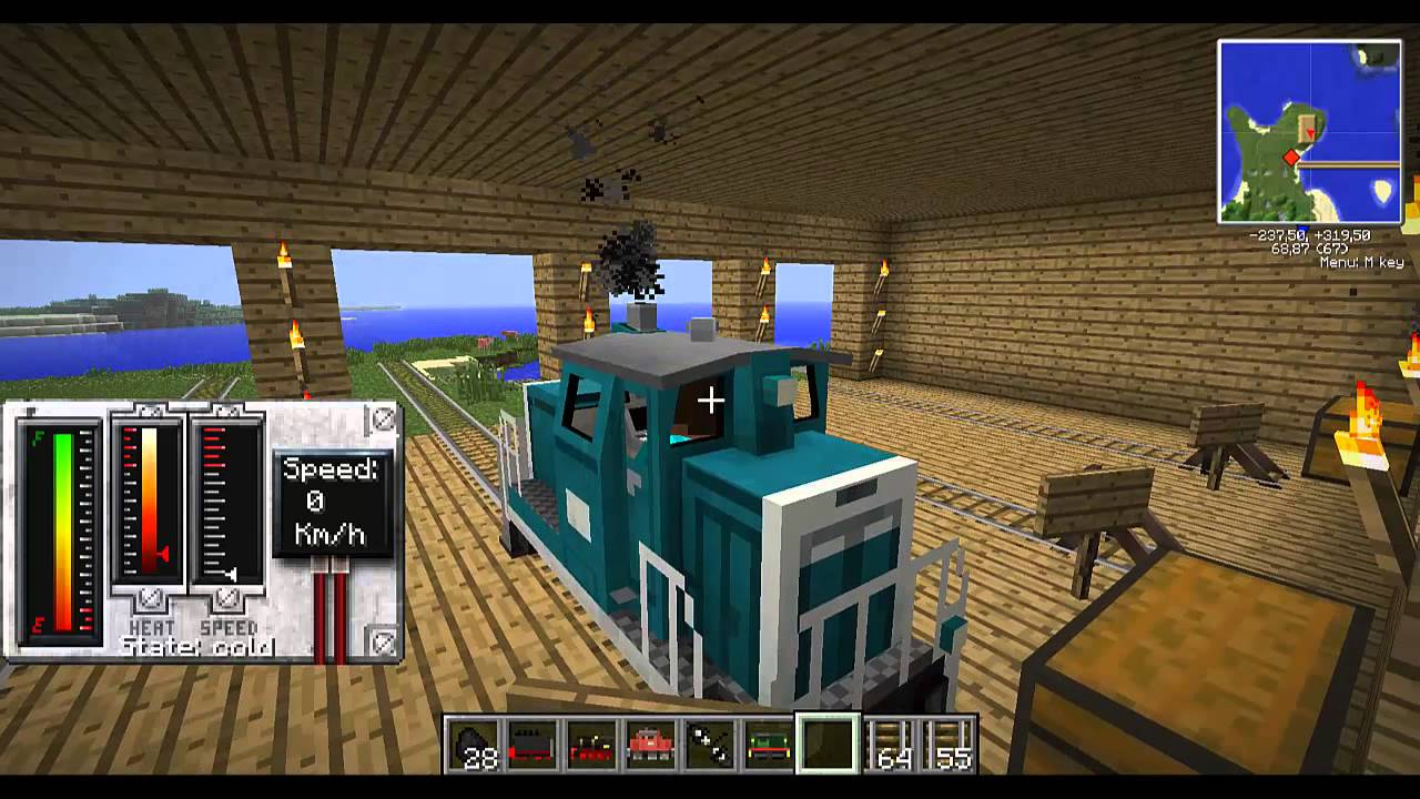 Traincraft Mod For Minecraft 1 12 1 11 2 1 10 2 1 9 4