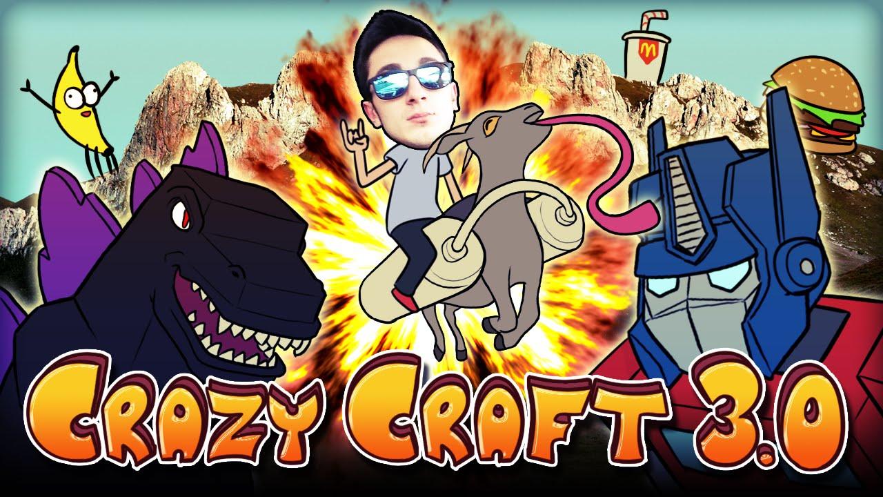 Crazy Craft Modpack    Download