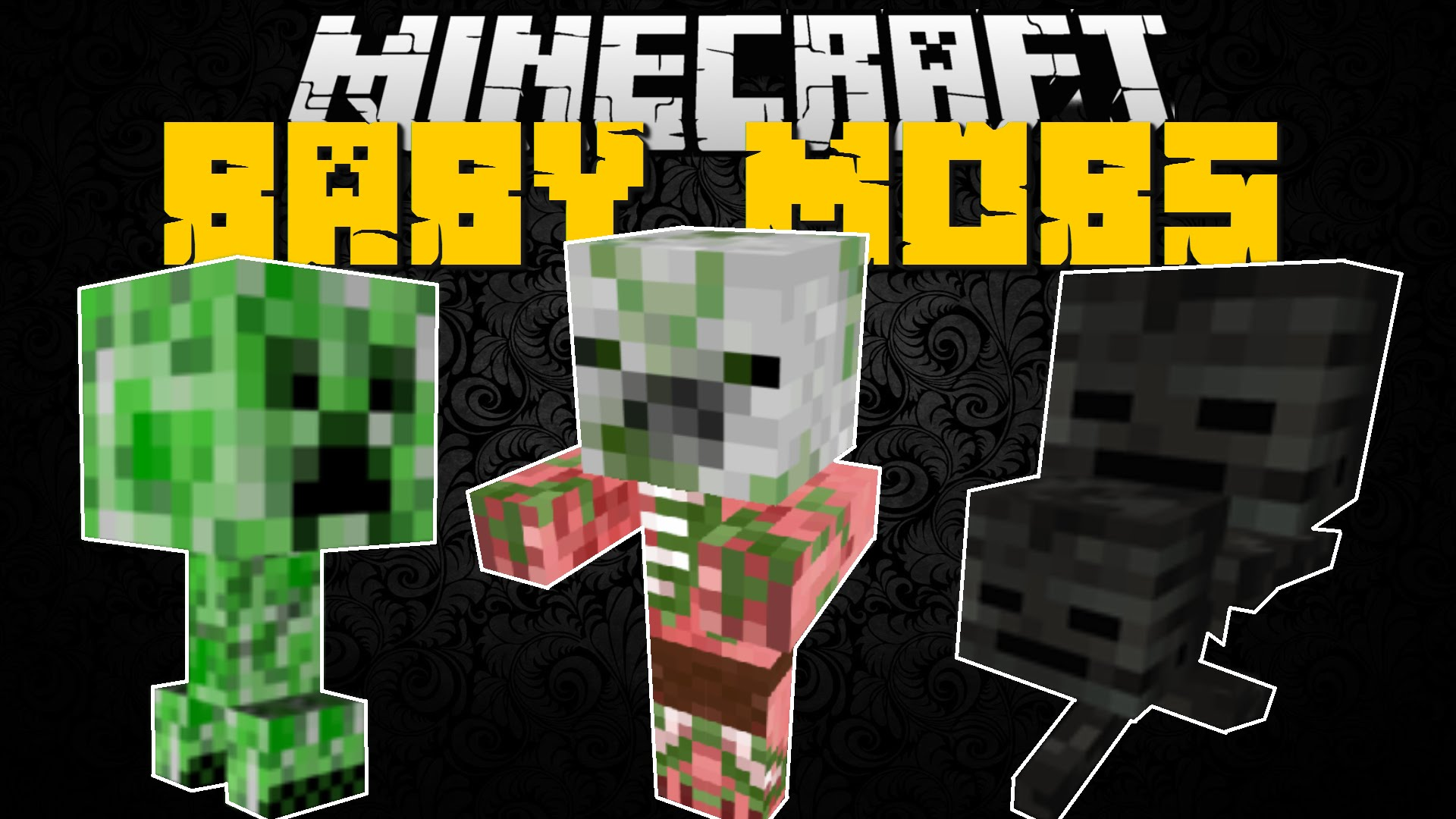 Baby Mobs Mod for Minecraft 1.11.2/1.10.2/1.9.4