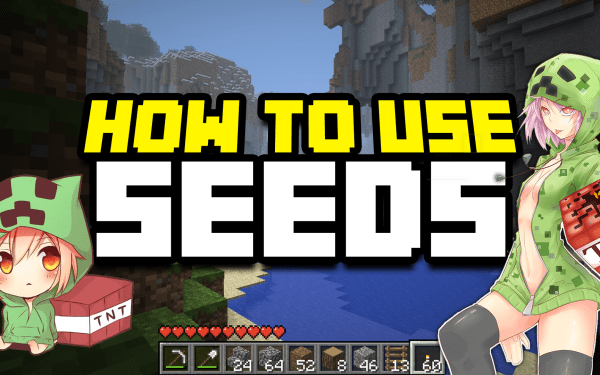 How to use a Seed in Minecraft Thumbnail