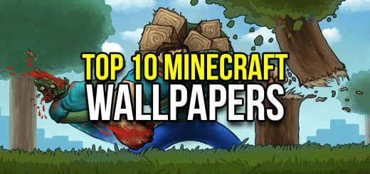 Top 10 Minecraft Wallpapers Thumbnail