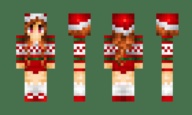 Minecraft Christmas Skin 1