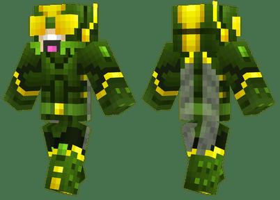 Locust Minecraft Skins