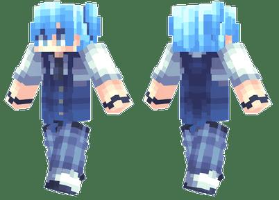 Nagisa Shiota Minecraft Skins
