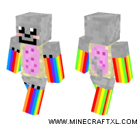 Nyan Cat Minecraft Skin Download