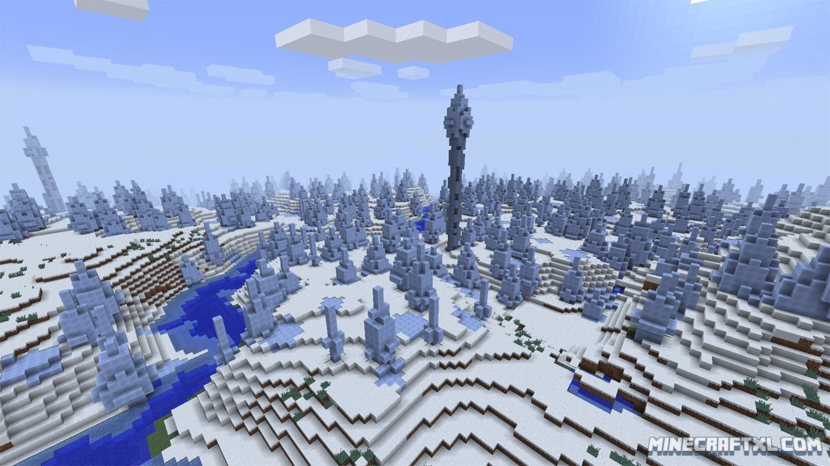 Ice Spikes Seed For Minecraft 18 85490543201