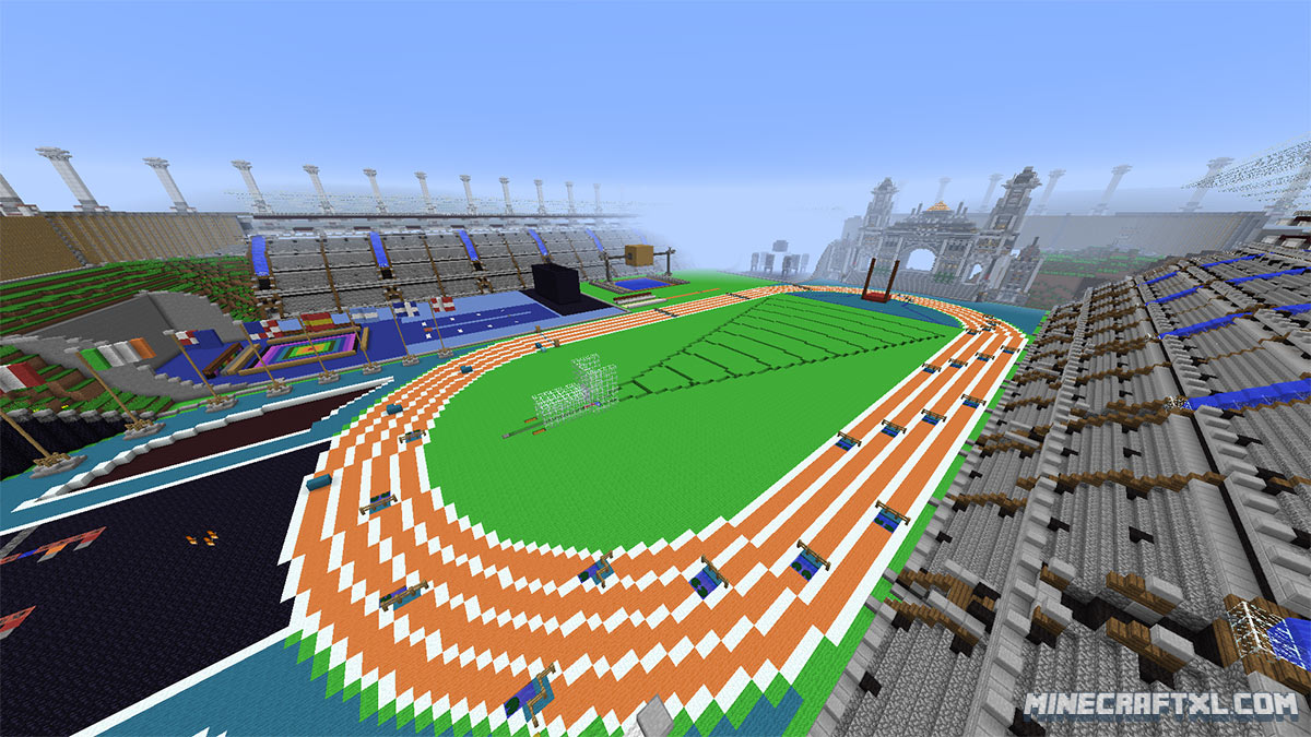 TNT Olympics Map Download For Minecraft 1817