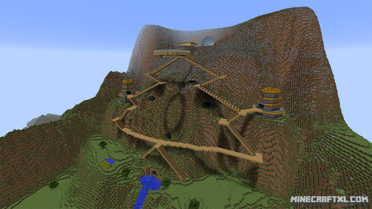 Terra Restore CTM Map Download for Minecraft 18