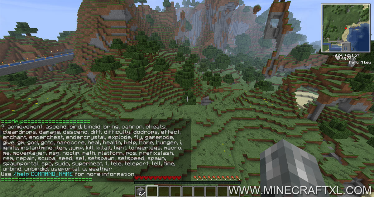 Single Player Commands SPC Mod Download For Minecraft 164162