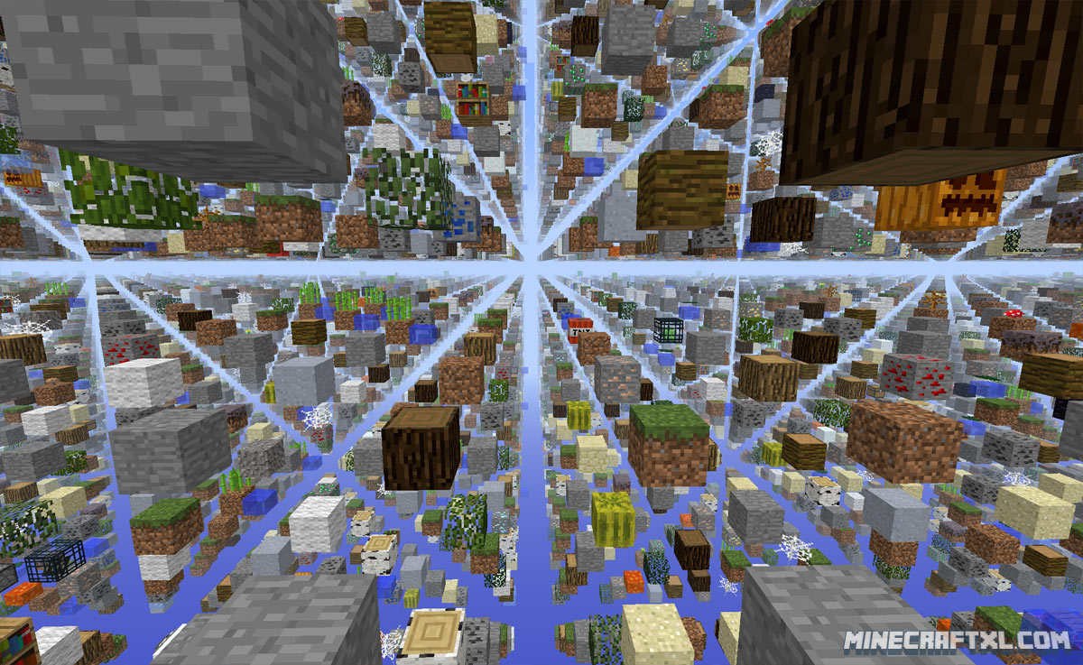 SkyGrid Survival Map Download For Minecraft 1716