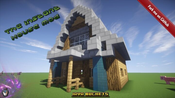 Instant House Mod 1.16.4/1.15.2