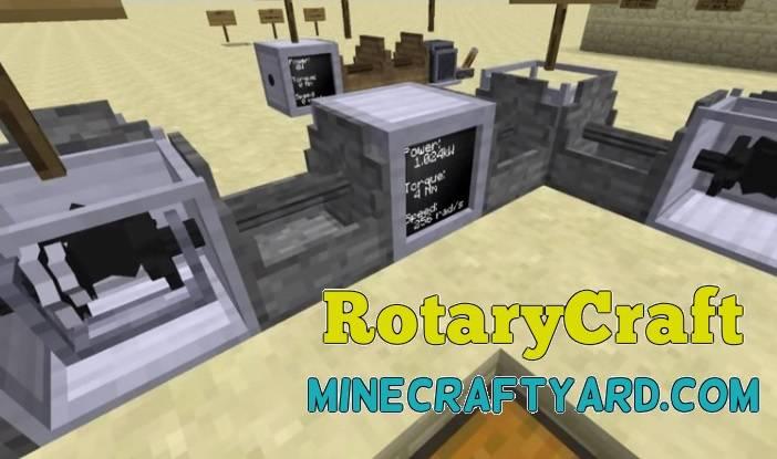 RotaryCraft Mod 1.16.5/1.15.2