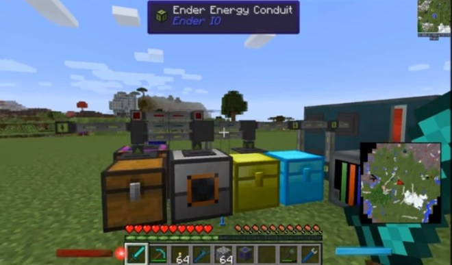 Ender IO Mod for Minecraft 4