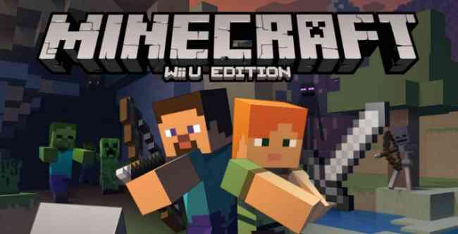 Minecraft for Nintendo WII U Release