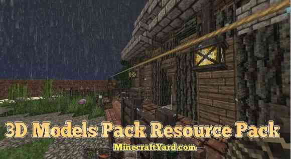 3D Models Pack for Conquest for 1.16.5/1.15.2
