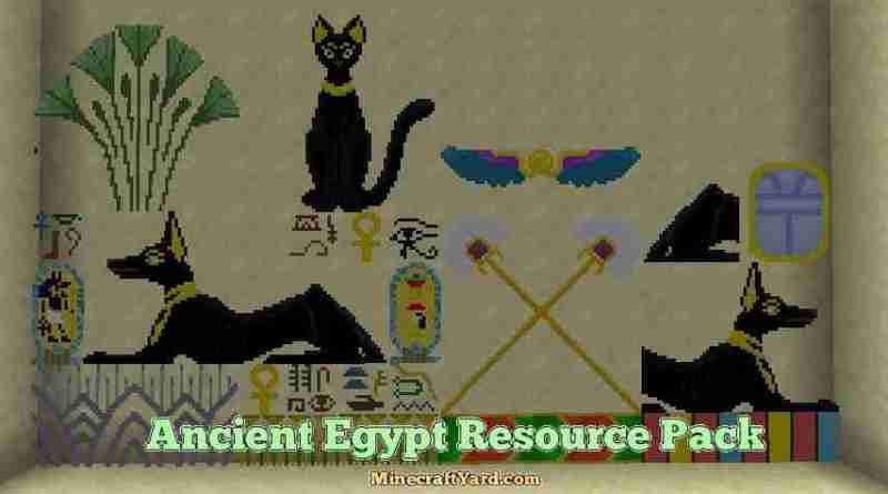 Ancient Egypt Resource Pack 1.16.3/1.15.2